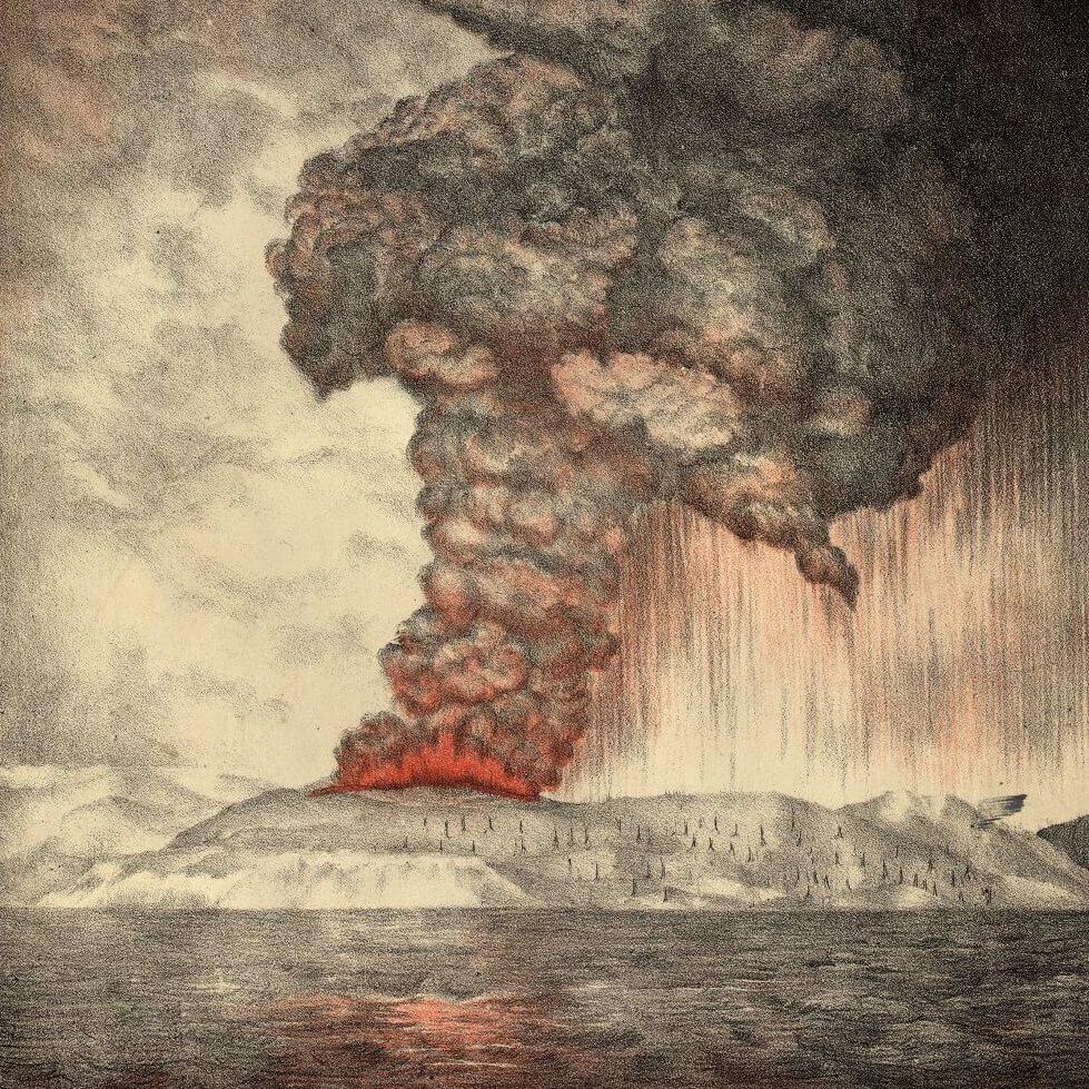 5 Seni Ini Terinspirasi Dari Letusan Gunung Krakatau