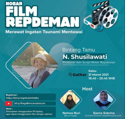 Melihat Keseruan Nobar Film Dokumenter Repdeman