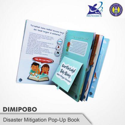 Bukan Buku Pop Up Biasa, DIMIPOBO Inovasi Baru Kebencanaan
