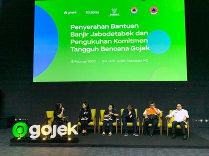 Gojek Bekerjasama Dengan BNPB Dalam Penanggulangan Bencana Indonesia