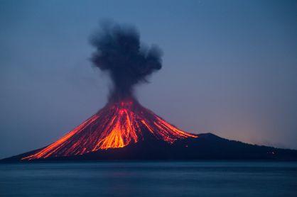 Karakteristik Gunung Api