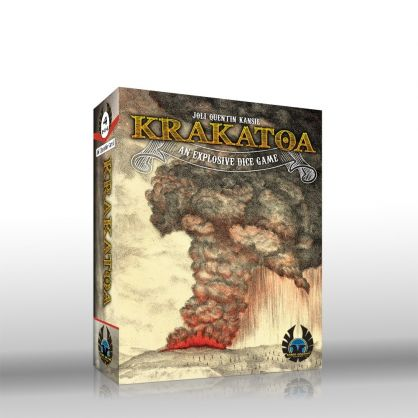 Krakatoa The Explosive Dice Game : Permainan Letusan Krakatau 1883