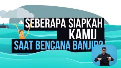 Video Edukasi Bencana Untuk Sobat Tuli