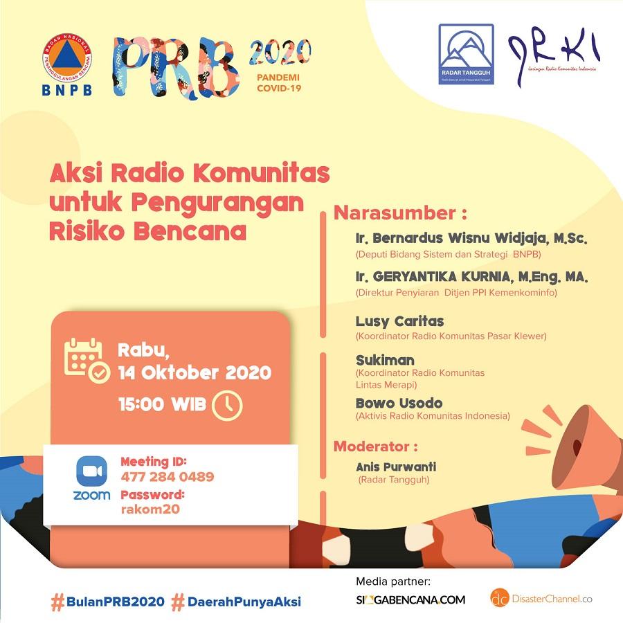 Radio Komunitas : Wadah Baru Dalam Pengurangan Risiko Bencana