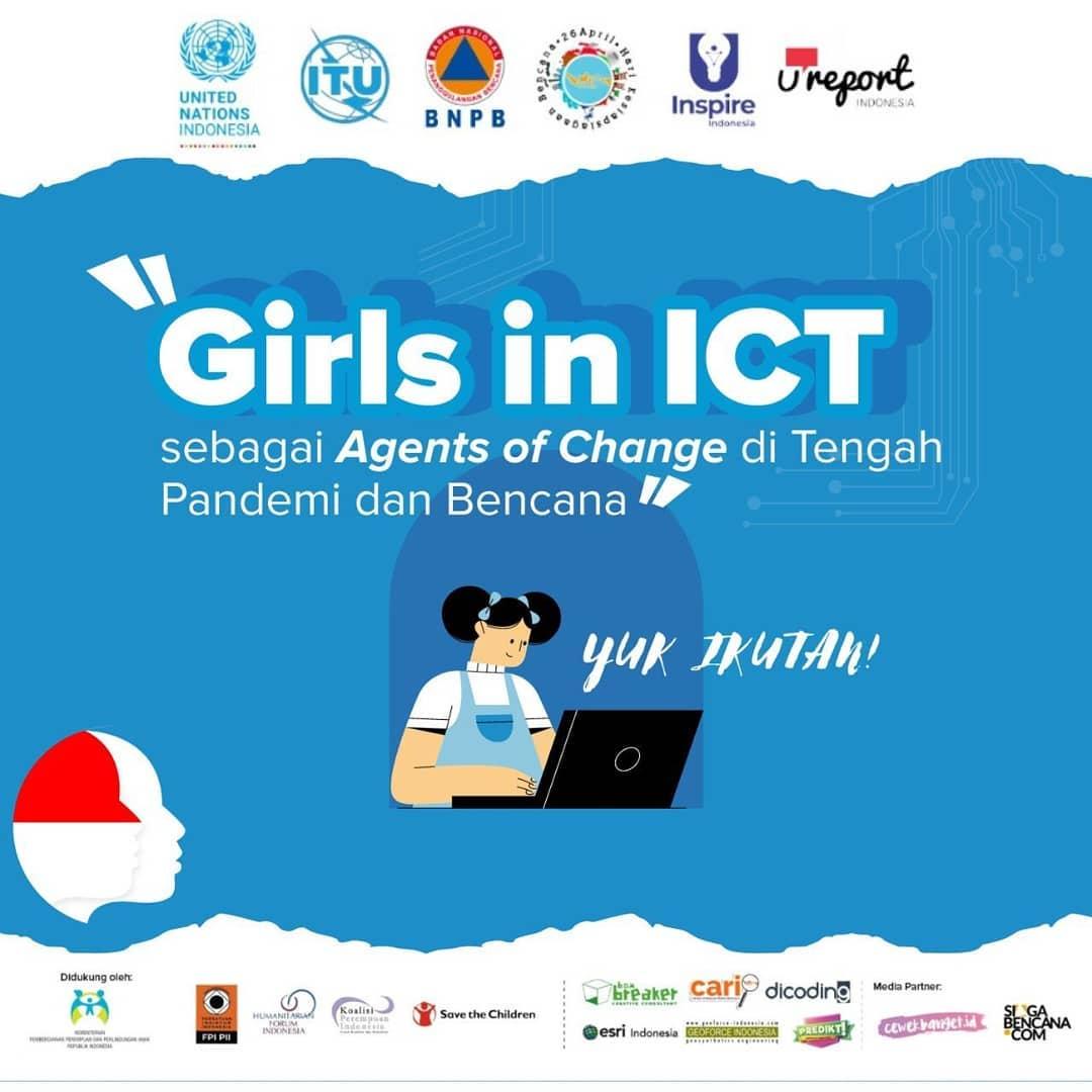 Girls in ICT sebagai Agen Perubahan di Tengah Pandemi dan Bencana