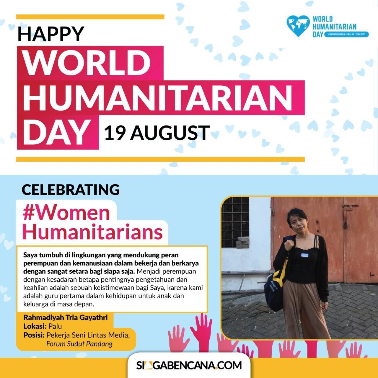 Happy World Humanitarian Day