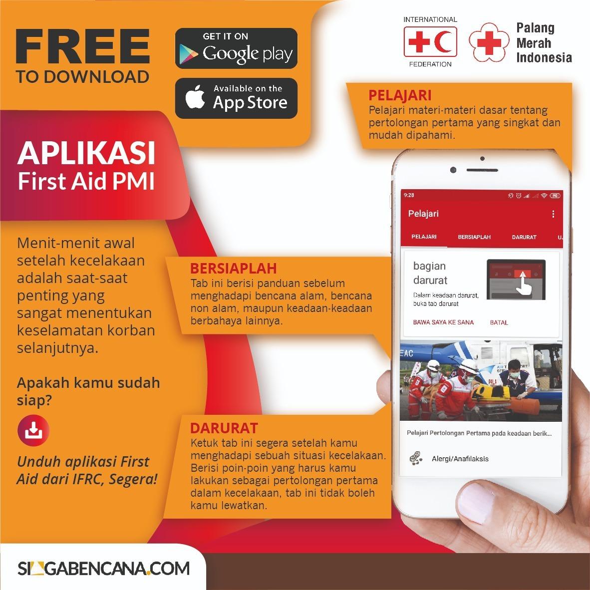 Kenali Pertolongan Pertama dengan Aplikasi First Aid dari IFRC