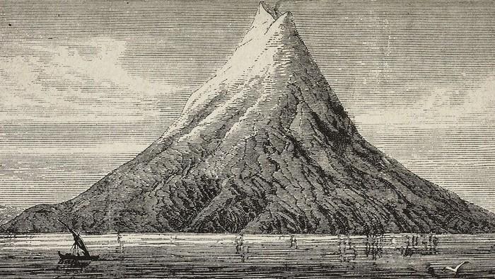 Seluk Beluk Tenggelamnya 2 Pulau & Terbentuknya Gunung Anak Krakata