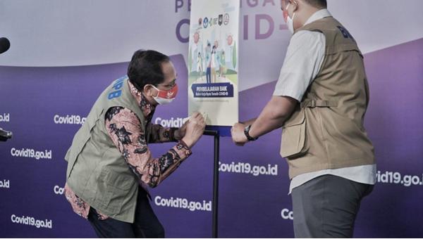 BNPB Rayakan Semangat Sumpah Pemuda melalui Launching Buku KKN-T COVID-19