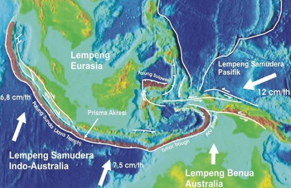 Kenalan dengan 3 Lempeng Aktif di Indonesia, Yuk