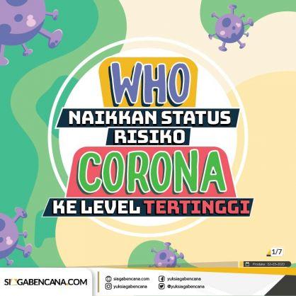 WHO Naikkan Status Risiko Corona Tertinggi Ke Level Tertinggi