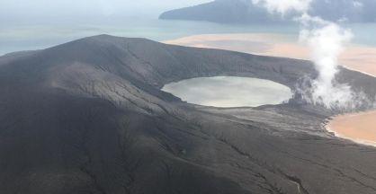 Wah, Gunung Anak Krakatau Kembali Muncul