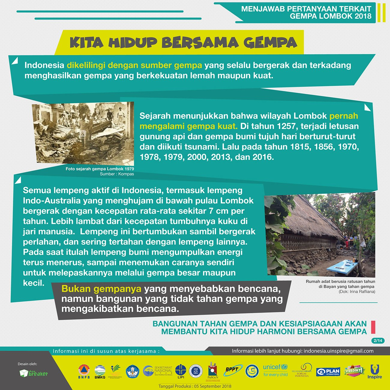 Peneliti Menjawab Gempa Lombok