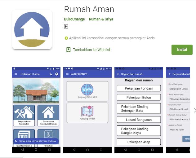 Membangun Rumah Tahan Gempa Dengan Aplikasi 'Rumah Aman'