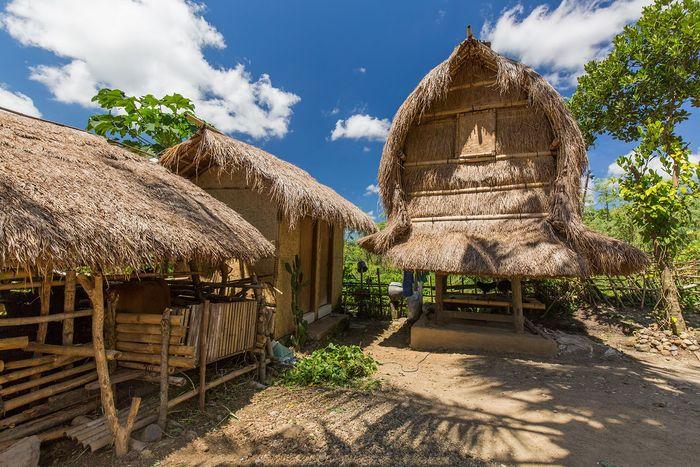 Rumah Sasak Tahan Gempabumi Milik Masyarakat Lombok
