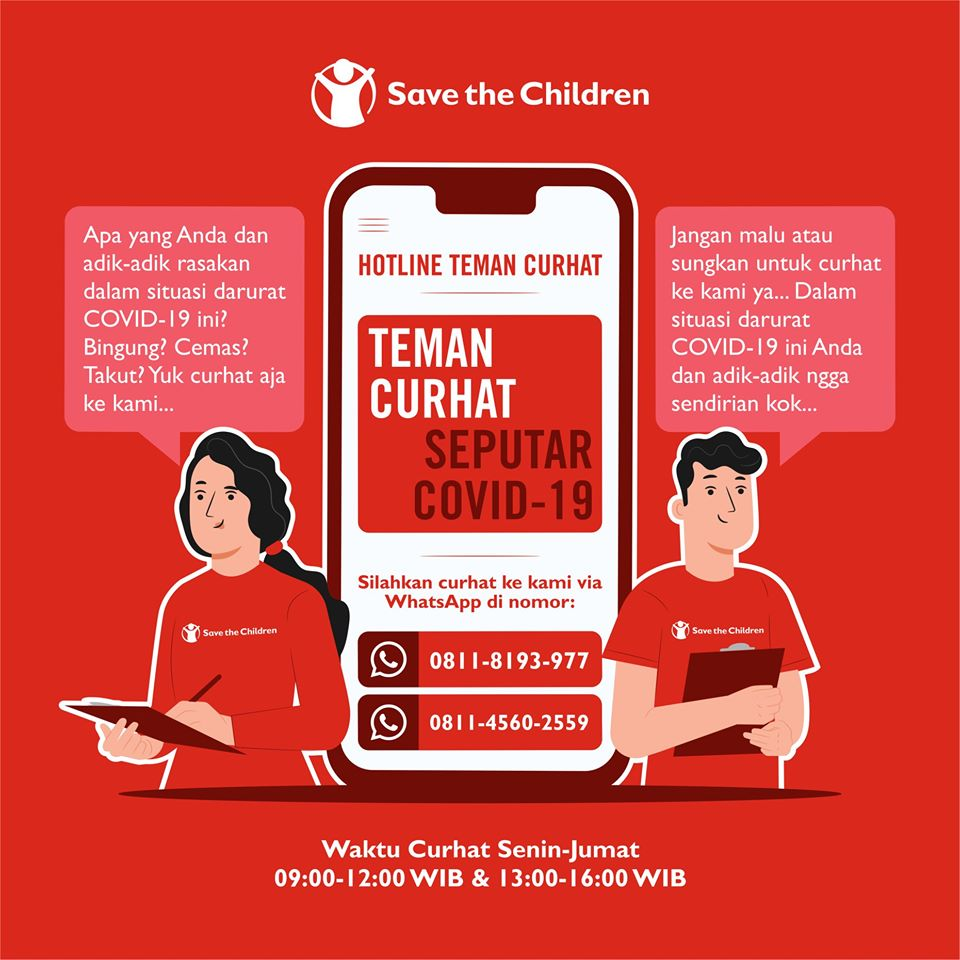 Save the Children, Curhat Dong