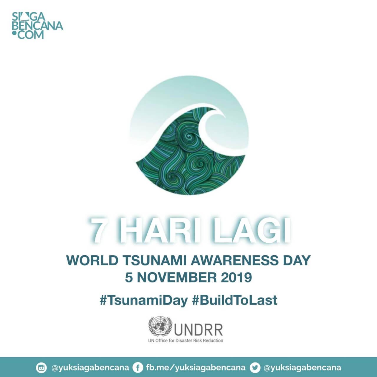 Sambut The World Tsunami Awareness Day, Nyok