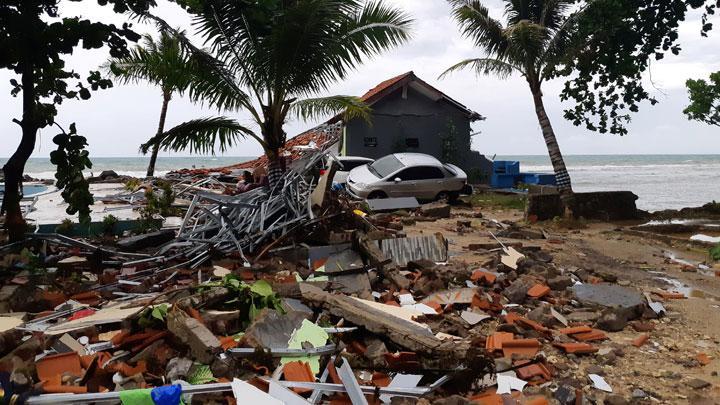 Belajar Kejadian Tsunami Selat Sunda Lewat 3 Tempat Ini