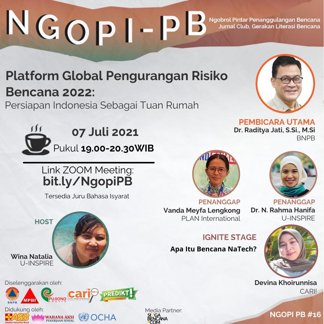 Indonesia Menjadi Tuan Rumah GPDRR 2022