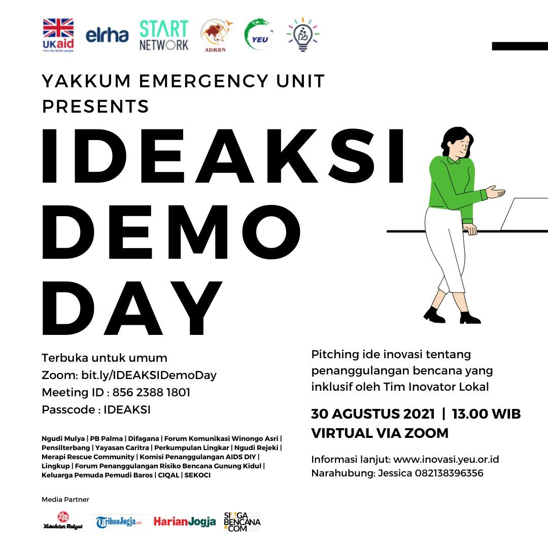 YEU Siapkan Demo Day IDEAKSI